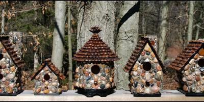 Необычные домики для птиц