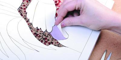 Как сделать декоративное панно из ткани
