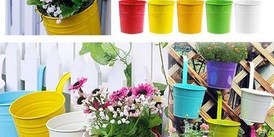 Оригинальные и практичные цветочные контейнеры для балконов и террас