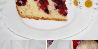 Ягодные пироги в мультиварке хороши)