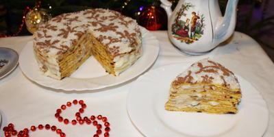"""Домашний торт """"Многослойный"""""""