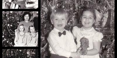 Вот так мы встречали Новый год когда росли наши дети !!