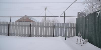 Наша зимняя дача