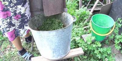Мульчер, он же измельчитель растений, он же траворезка