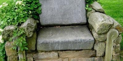 11 идей использования камней в саду