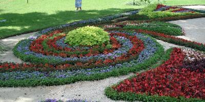 10 сказочных цветников - 10 идей для дачи