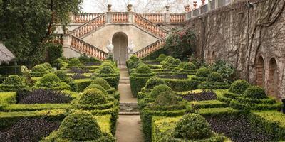Регулярный стиль садов в Испании