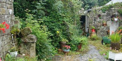 Стиль кантри бретонской деревеньки Локронан
