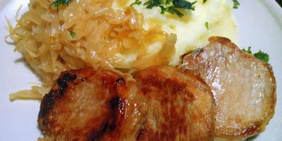 Мясо по-кассельски