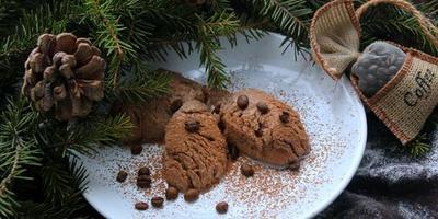 Шоколадно-кофейный десерт