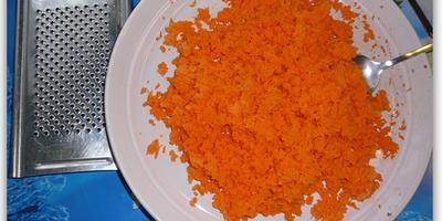 Морковно-рисовая каша