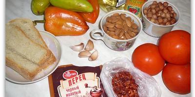Паста из болгарского перца