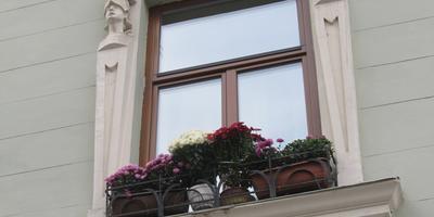 Осенний балкон