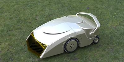Новый робот-газонокосилка работает без электричества