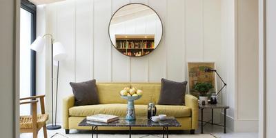 5 нестандартных стилей для дачной гостиной