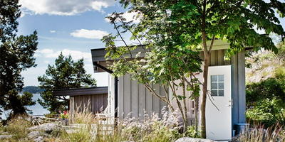 Стильный дизайн интерьера на крошечной даче