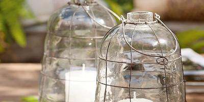 6 декоративных элементов для патио в вашем саду