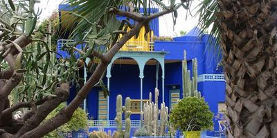 Дизайн приусадебного участка в марокканском стиле