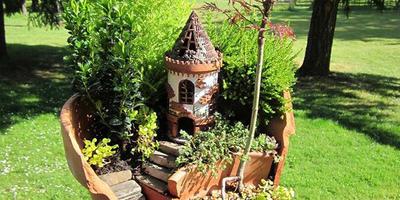 Новый тренд в садоводстве — мини-сад в горшке