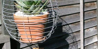 Сад Стивена Велласа из вторично используемых материалов
