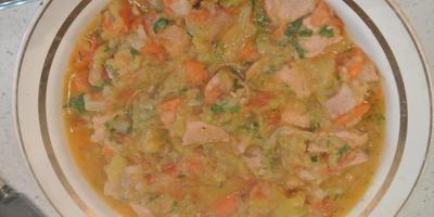 Рагу с кабачками и мясом