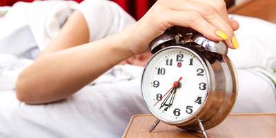 В котором часу вы просыпаетесь?