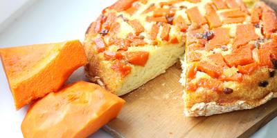Шарлотка из тыквы - необычный пирог для здоровья