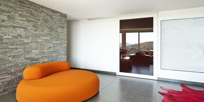 Натуральный камень в дизайне: пол и стены