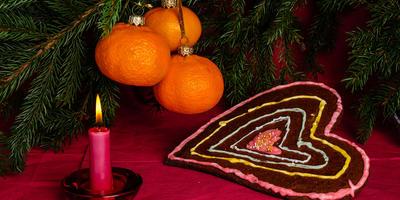 5 идей новогоднего декора из мандаринов