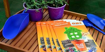 Встречайте в апреле новый Садовый каталог сезона весна-лето 2017 от ОБИ