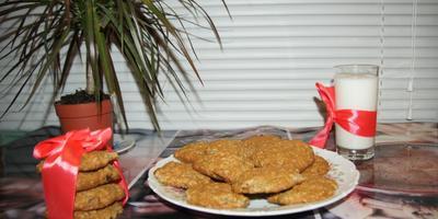 Печенье овсяное - на даче желанное