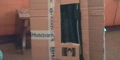 А подарки от компании Husqvarna всё приходят!