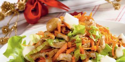 7 легких праздничных салатов