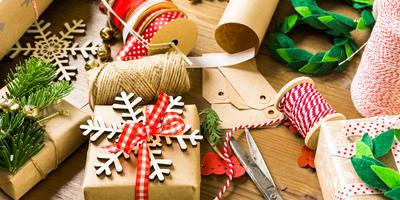 Новогодняя упаковка для подарков своими руками