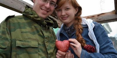 Копали картошку на юбилей свадьбы