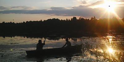 На рыбалку