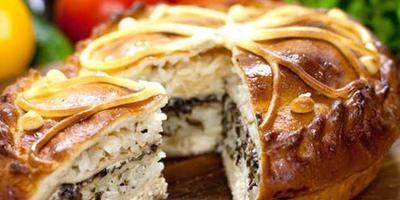 Курник - традиционный праздничный пирог