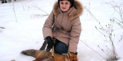Сестра с охотничьим трофеем