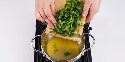 Мастер-класс: зеленые маффины из шпината