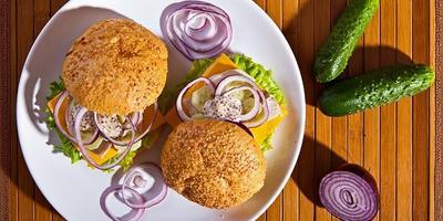 Перекус с собой: 8 рецептов гамбургеров, сэндвичей и бутербродов