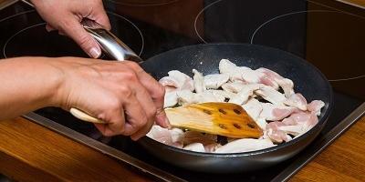 Фахитос с курицей и сыром