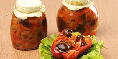 Овощные салаты: 5 рецептов заготовок