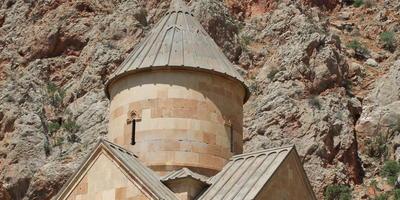 Нораванк - монастырь в красных горах. Армения
