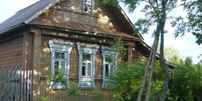 История одного деревенского домика