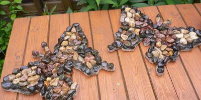 Украшение дачного участка с помощью камней