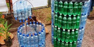 Кто-нибудь делал бочку из пластиковых бутылок?