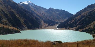 Путешествие в Казахстан. Большое Алматинское озеро