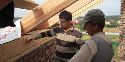 Ремонт и реконструкция крыши загородного дома