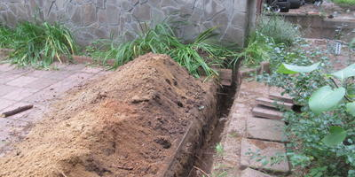Опыт подключения к магистральному газопроводу на даче