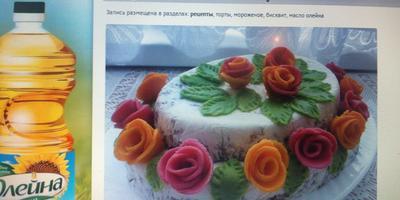 Из каких вкусных продуктов можно сделать красивое и необычное украшение для новогоднего торта?